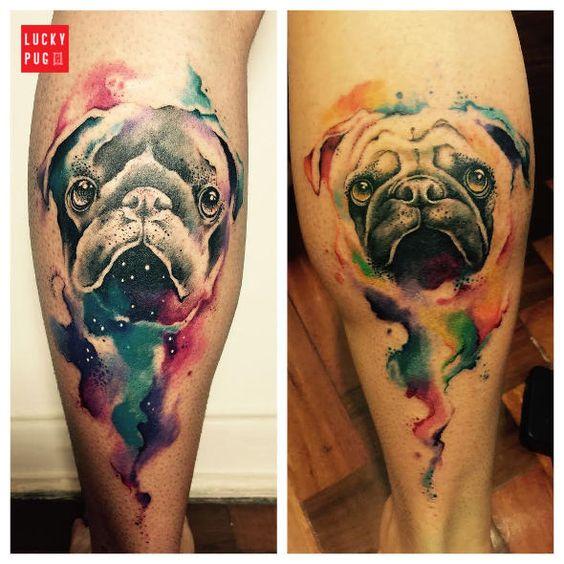 tatuagens pug