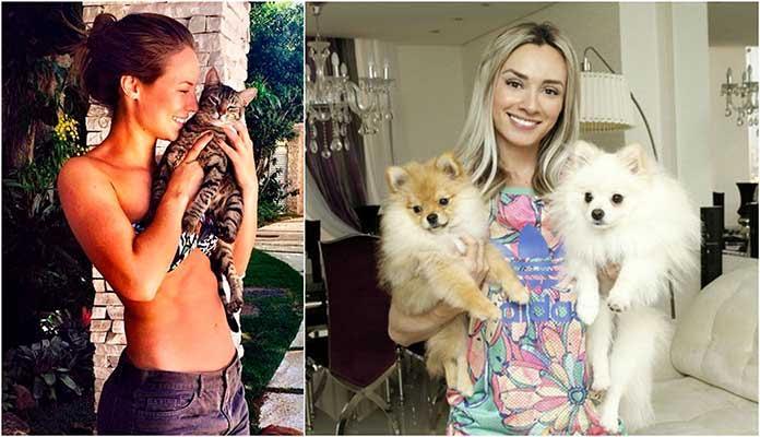 Confira os pets de alguns famosos brasileiros