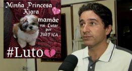 Veterinário se pronuncia sobre o laudo da morte da cadelinha Kiara