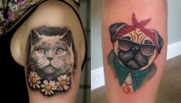 Tatuagens incríveis para você se inspirar e registrar o amor que sente pelo pet