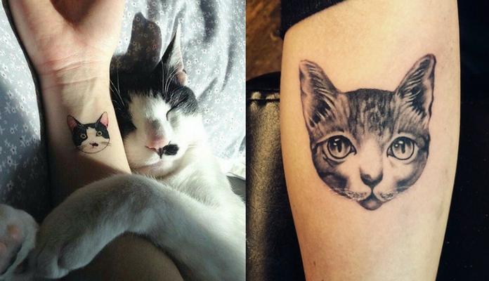 20 Melhores Ideias De Tatuagens Para Amantes De Gatos